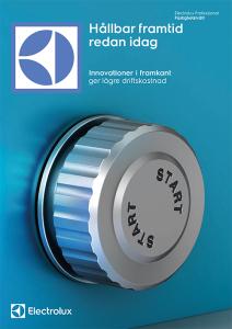 BroschyrBroschyr Electrolux Fastighetstvätt